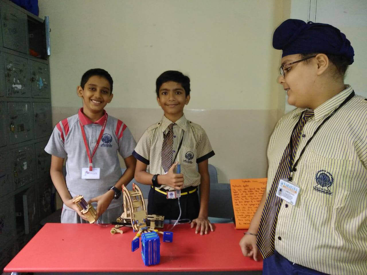 Science Exhibition @ Narayana e-Techno School, Borivali, Mumbai Branch